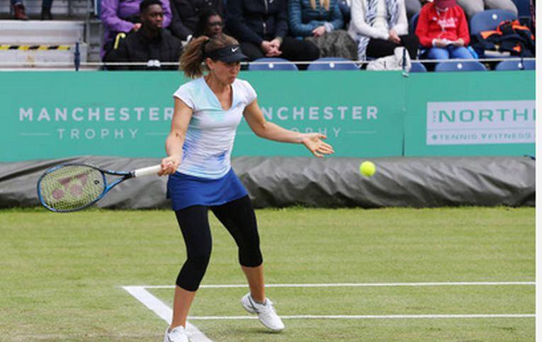 Ioana Laura Paar în acțiune la Manchester