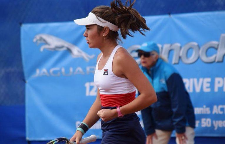 Irina Fetecăudupă o victorie