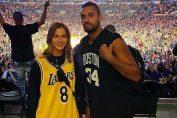 Nick Kyrgios și Anna Kalinskaya au mers împreună la unmeci de bascet din NBA susținut acasă de Los Angeles Lakers
