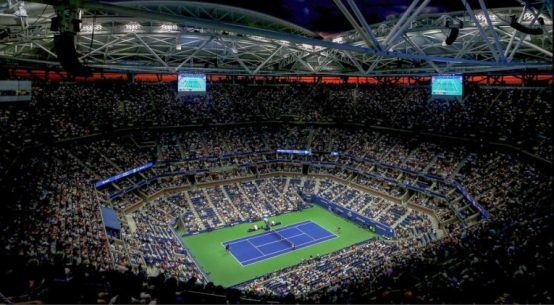 Terenul Central de la US Open