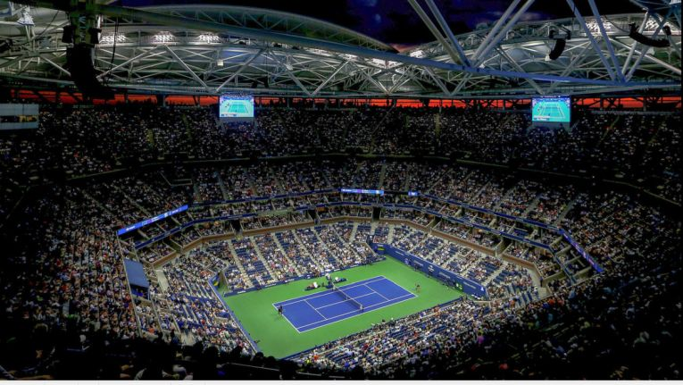 Terenul Central de la US Open
