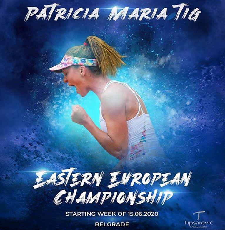 Patricia Țig a fost anunțată ca participantă la turneul ce va fi organizat la Belgrad