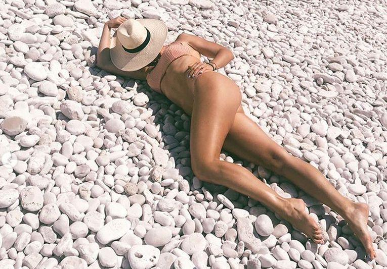 Plaja este una dintre activitățile care îi fac cea mai mare plăcere Jelenei Jankovic