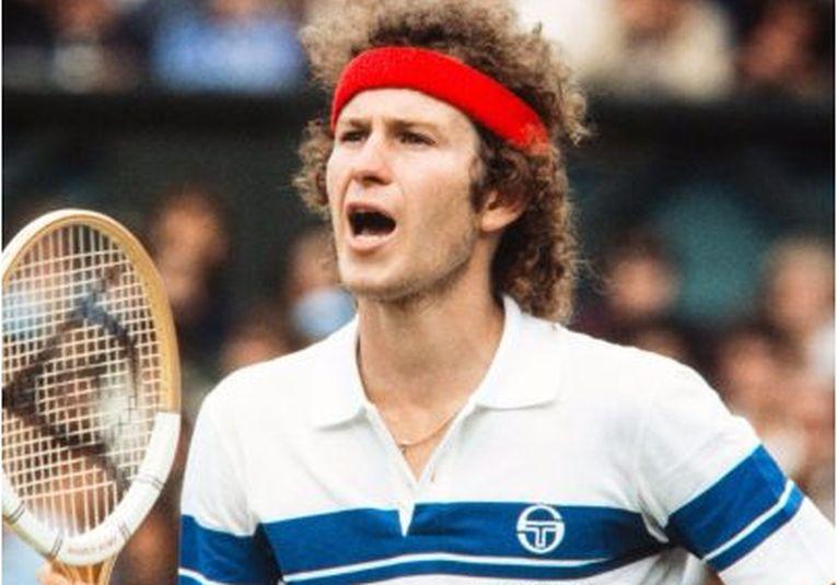 John McEnroe în cearta cu arbitrul de scaun