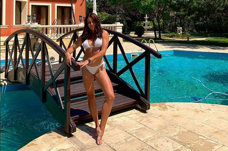 Gabriela Ruse ar putea fi oricând fotomodel