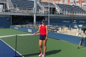Irina Begu a facut primele antrenamente la US Open