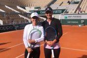 Simona Halep și Irina Begu s-au antrenat împreună la Roland Garros