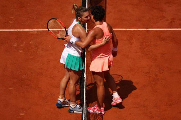 Simona Halep este bună prietenă cu Carla Suarez Navarro
