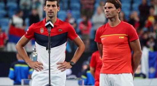 Novak Djokovic și Rafael Nadal