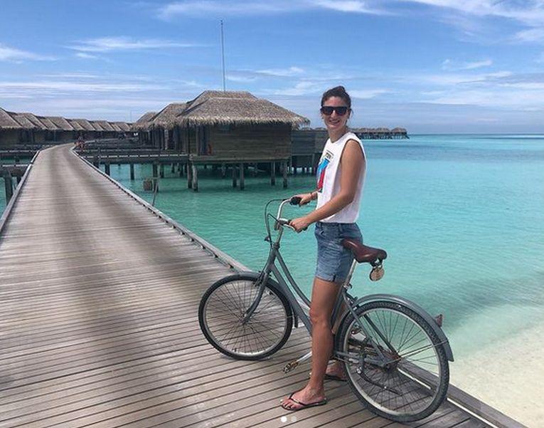 Irina Begu, în vacanță