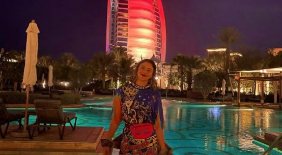 Bianca Andreescu a ieșit în seara de Crăciun pe promenadă la Dubai