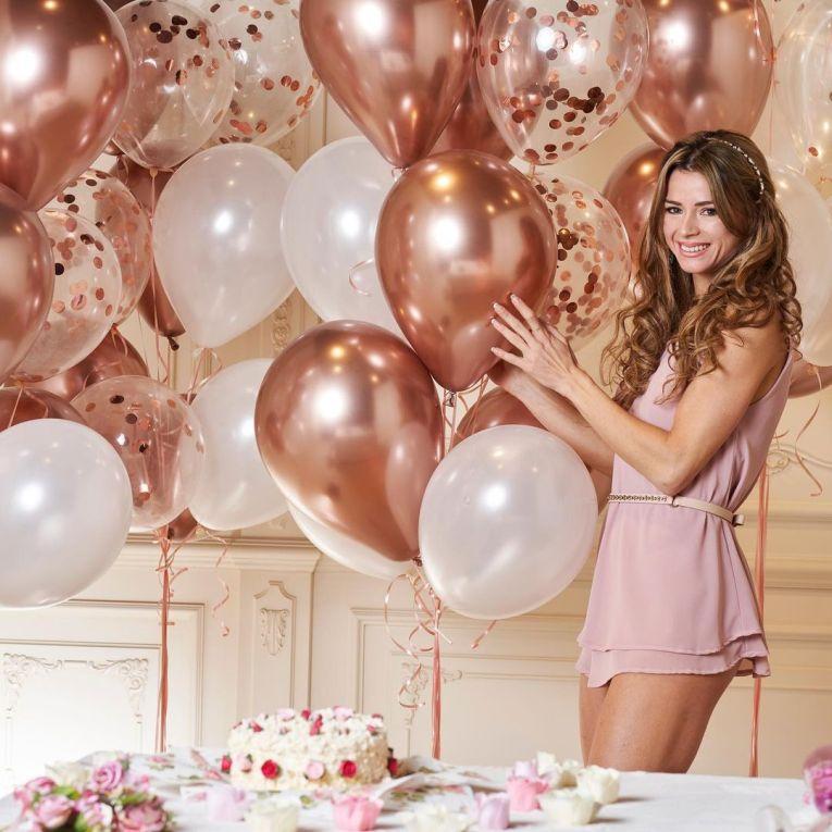 Camila Giorgi a avut o aniversare roz