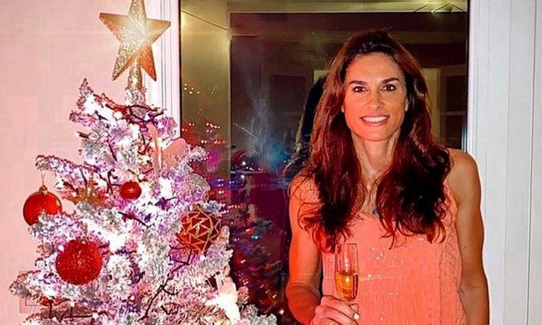 Gabriela Sabatini la 50 de ani, de Crăciunul din 2020