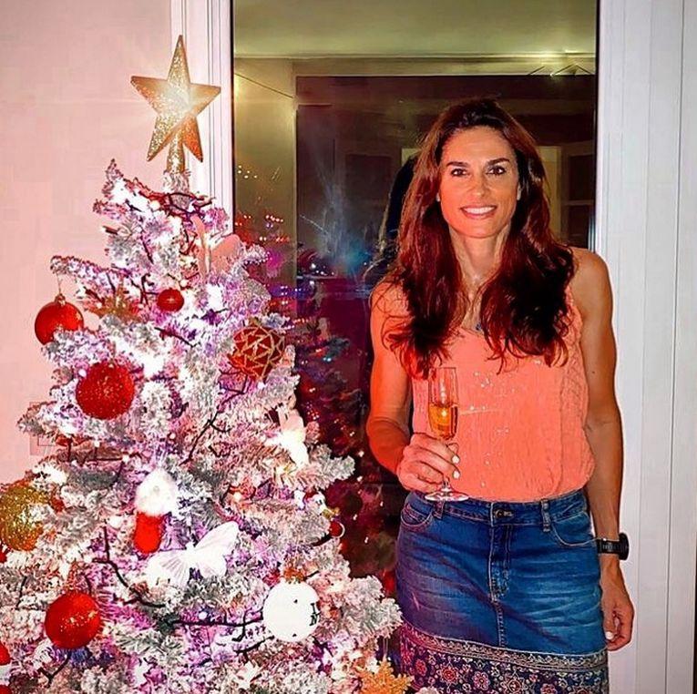 Gabriela Sabatini, strălucitoare la Crăciunul 2020