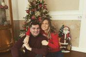 Simona Halep și iubitul ei, Toni Iuruc, și-au pus dorințe în fața bradului de Crăciun