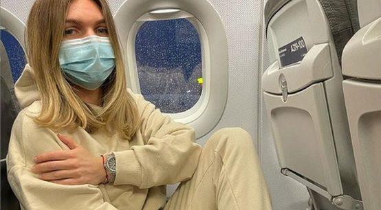 Simona Halep a plecat spre Australia