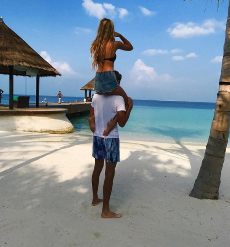 Singura fotografie postată de Daniil Medvedev cu soția lui pe plajă
