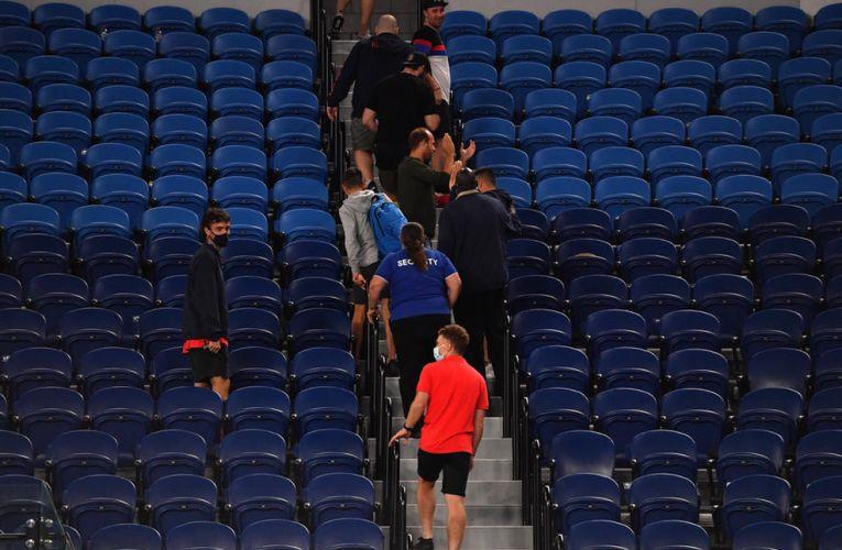 Spectatorii au fost din arenă în timpul meciului lui Djokovic