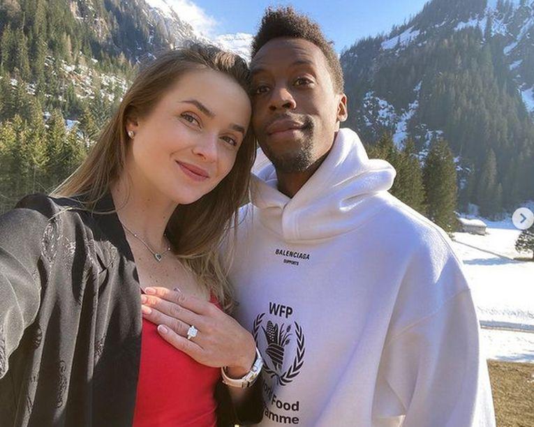 Elina Svitolina a acceptat cererea în căsătorie din partea lui Gael Monfils