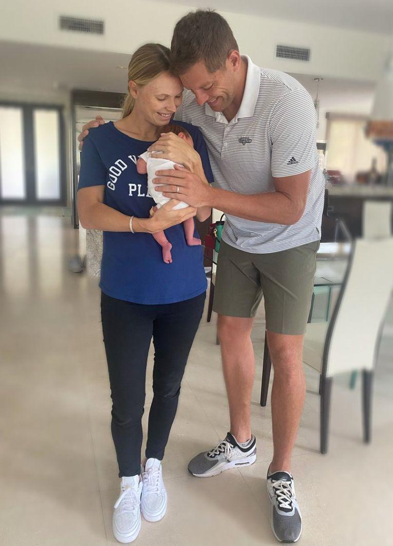 Caroline Wozniacki și soțul ei le-au prezentat fanilor fetița