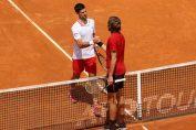Novak Djokovic și Stefanos Tsitsipas