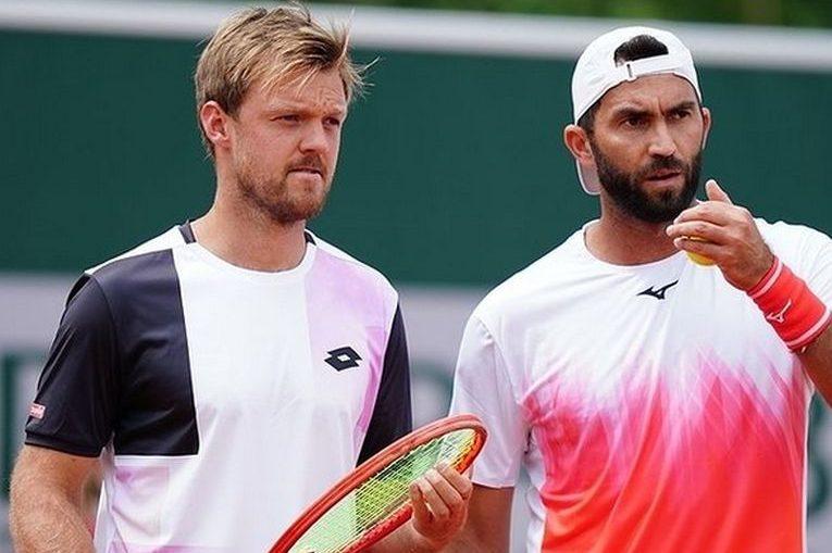 Horia Tecău și Kevin Krawietz la Roland Garros 2021