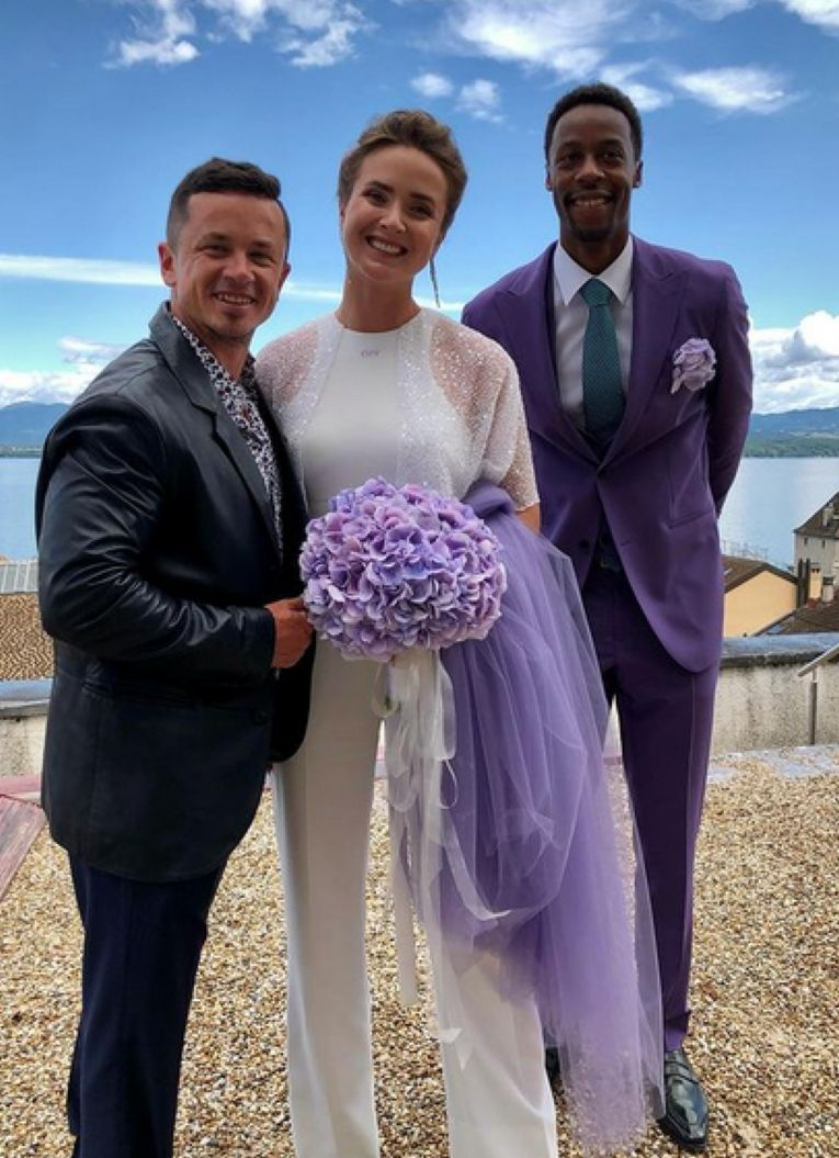 Elina Svitolina și Gael Monfils s-au căsătorit la Nyon