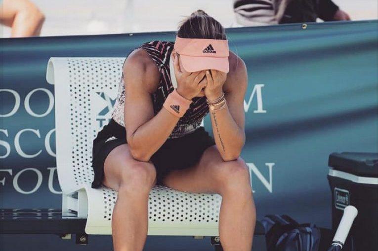 Ana Bogdan plânge după eliminarea dramatică de la US Open