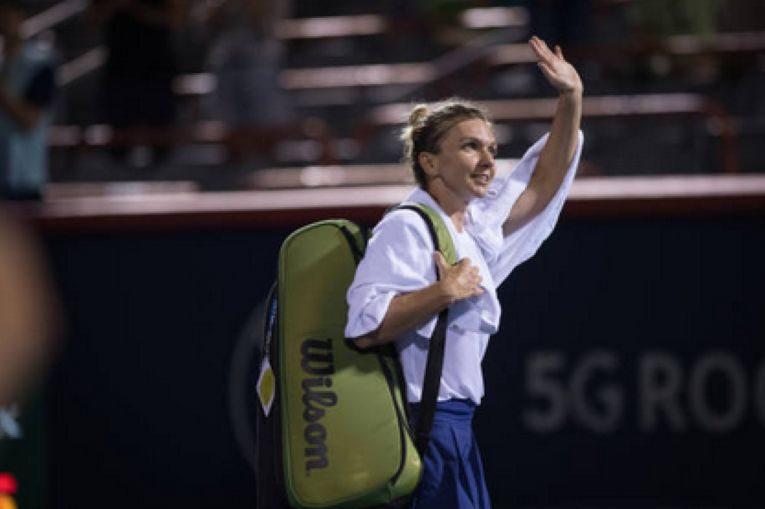 Simona Halep a părăsit turneul de la Montreal cu zâmbetul pe buze