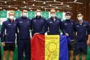 Echipa de Cupa Davis a României pentru meciul cu Portugalia