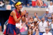 Emma Răducanu la US Open 2021