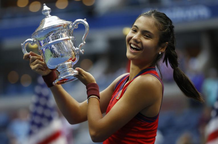 Emma Răducanu a cucerit trogeul la US Open 2021