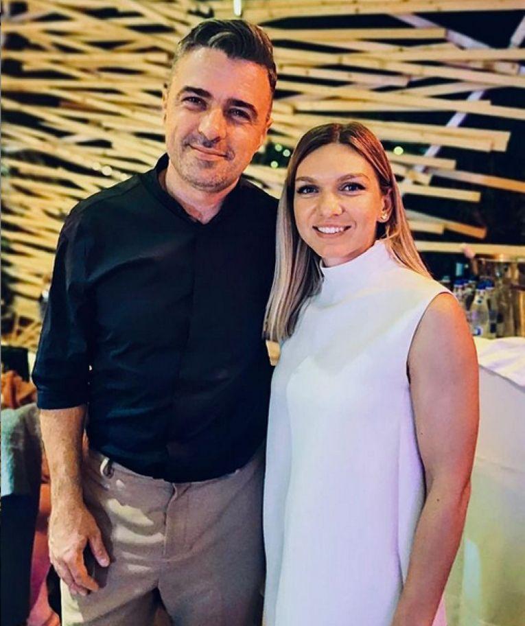 Simona Halep, alături de Cornel Ilie, de la Vunk
