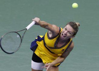 Simona Halep la US Open 2021