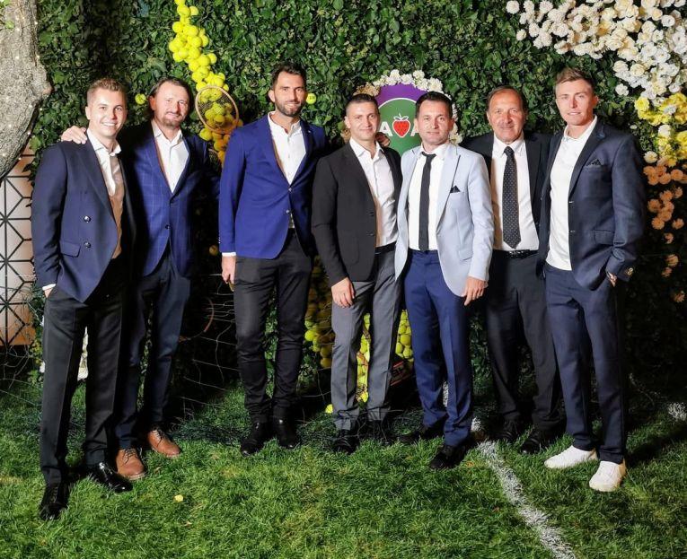 Lumea tenisului masculin, într-o singură fotografie