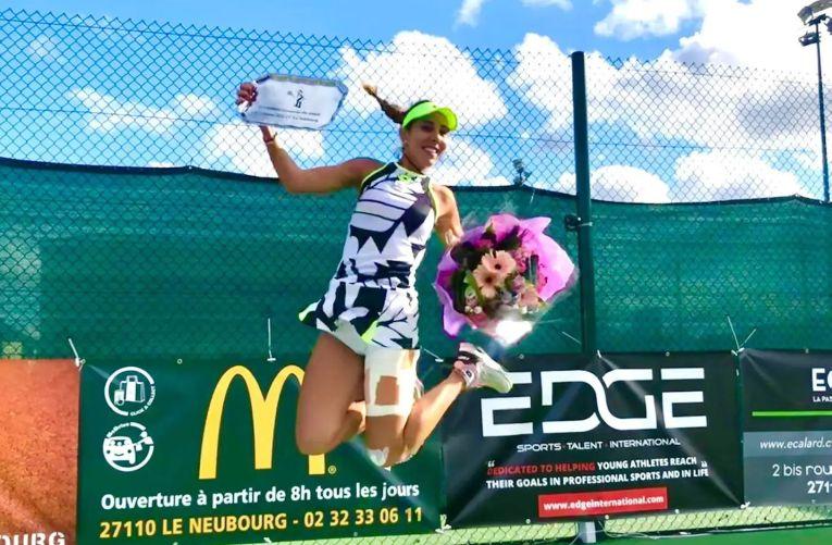 Mihaela Buzărnescu, în al nouălea cer după câștigarea titlului în Franța
