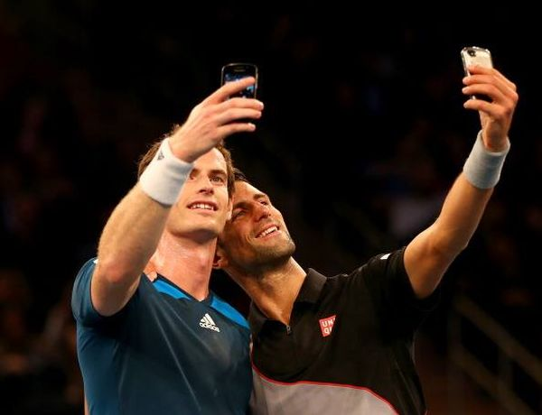Novak Djokovic si Andy Murray