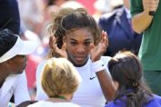 serena williams plange wimbledon