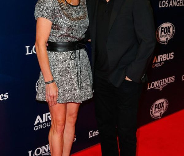 Steffi Graf si Andre Agassi Longines Los Angeles Masters