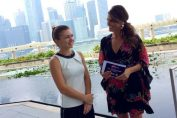 Simona Halep Singapore All Access Hour