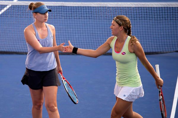 elena bogdan nicole melichar tenis