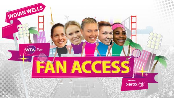 indian wells fan access