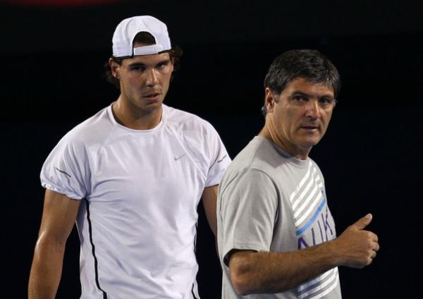 Rafael Nadal Toni Nadal
