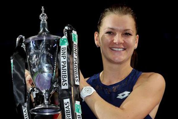 Agnieszka Radwanska a castigat Turneul Campioanelor 2015