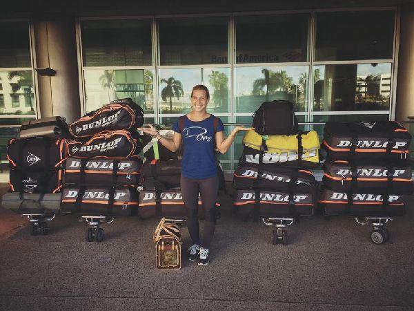 dominika cibulkova bagaje revenire acasa