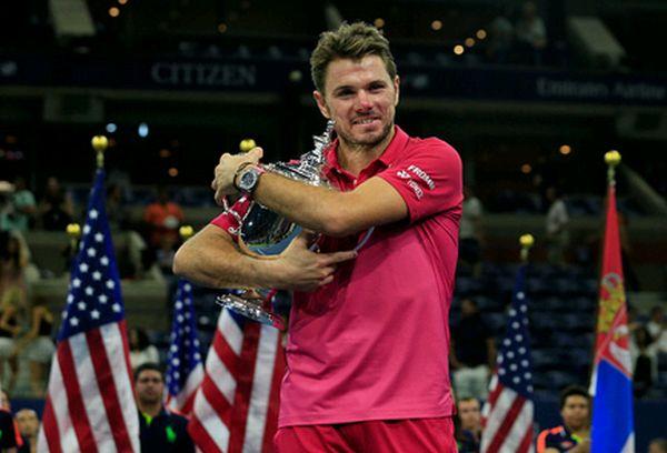 stanislas wawrinka trofeu US Open