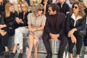 roger federer paris fashion show