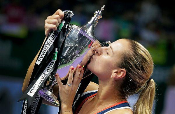 dominika cibulkova turneul campioanelor trofeu