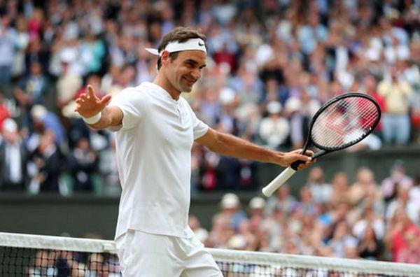 Roger Federer la Wimbledon 2017