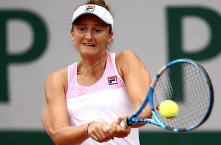 Irina Begu si tinuta ei FILA la Roland Garros 2018